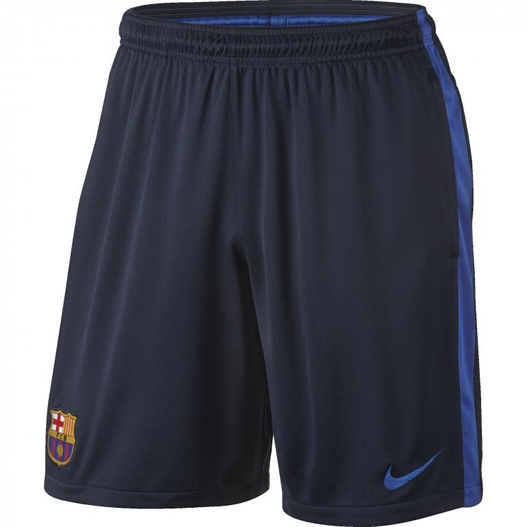 Short entraînement FC Barcelone noir 2016 - 2017