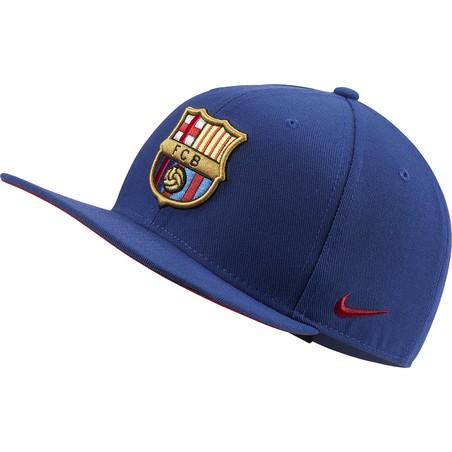 Casquette visière plate FC Barcelone Pro bleu 2019/20