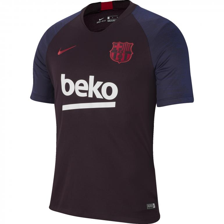 Maillot entraînement FC Barcelone bleu rouge 2019/20