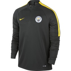 Sweat Zippé Manchester City noir 2016 - 2017