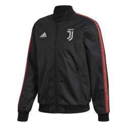Veste survêtement Juventus Anthem noir rouge 2019/20