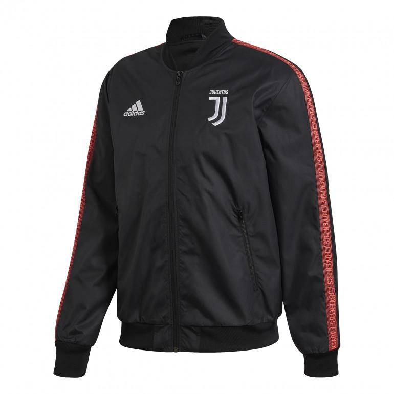 Veste survêtement Juventus Anthem noir rouge 201920