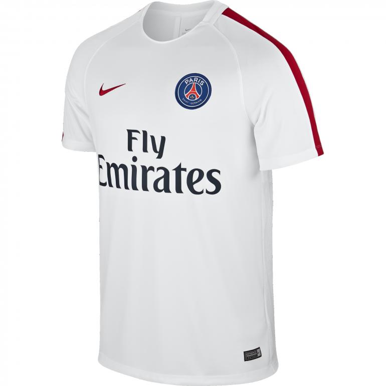 Maillot entraînement PSG blanc 2016 - 2017
