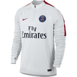 Sweat Zippé PSG blanc 2016 - 2017