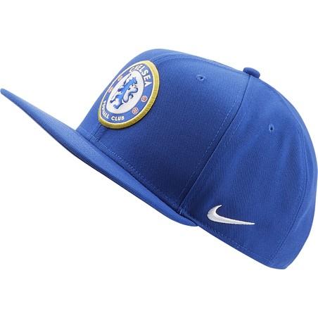 Casquette Chelsea visière plate bleu 2019/20