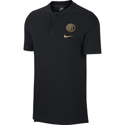Polo Inter Milan Authentique noir or 2019/20