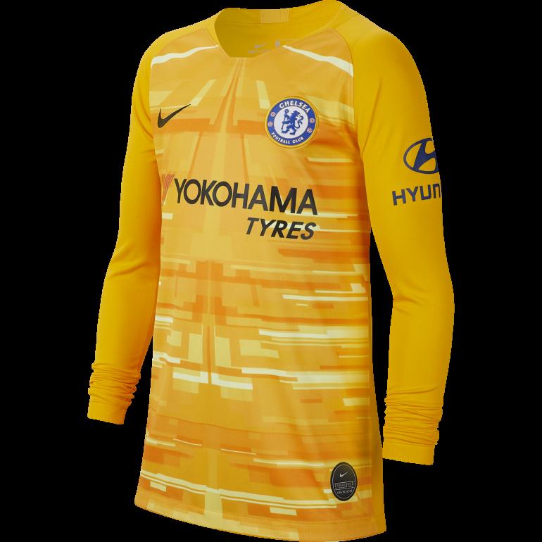 Maillot Gardien junior Chelsea jaune 2019/20