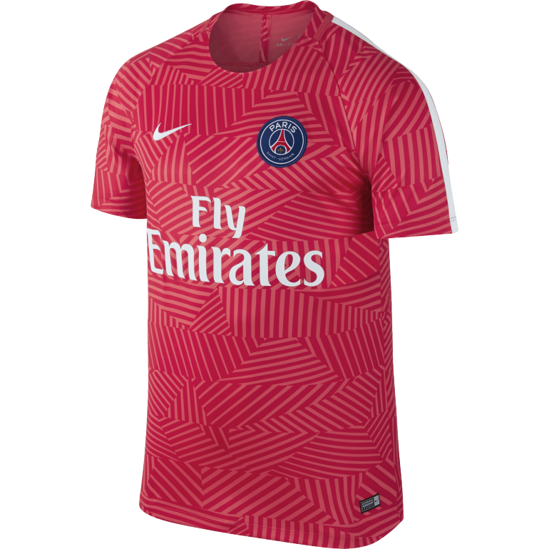 maillot entra nement psg rouge 2016 2017 sur. Black Bedroom Furniture Sets. Home Design Ideas