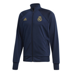 Veste survêtement Real Madrid ICONS bleu or 2019/20