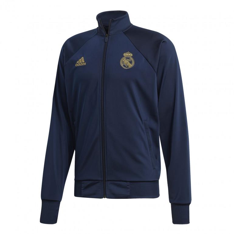 Veste survêtement Real Madrid ICONS bleu or 2019/20