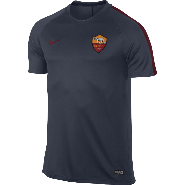 Maillot entraînement AS Roma bleu 2016 - 2017