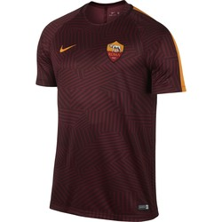 Maillot Avant Match AS Roma rouge pourpre 2016 - 2017