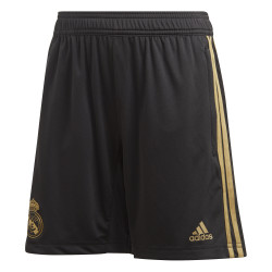 Short entraînement junior Real Madrid noir or 2019/20