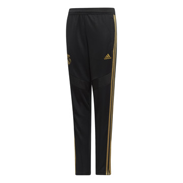 Pantalon survêtement junior Real Madrid noir or 2019/20