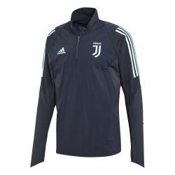 Sweat zippé Juventus noir bleu 2019/20