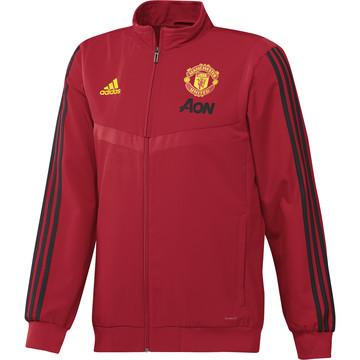 Veste survêtement Manchester United rouge 2019/20