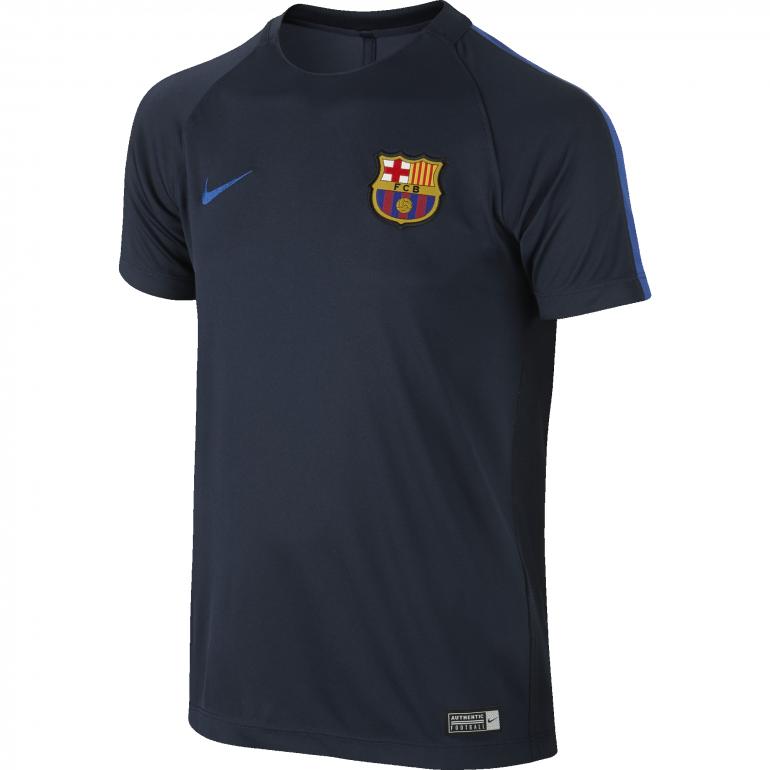 Maillot entraînement Junior FC Barcelone bleu 2016 - 2017