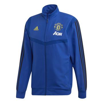 Veste entraînement Manchester United bleu jaune 2019/20