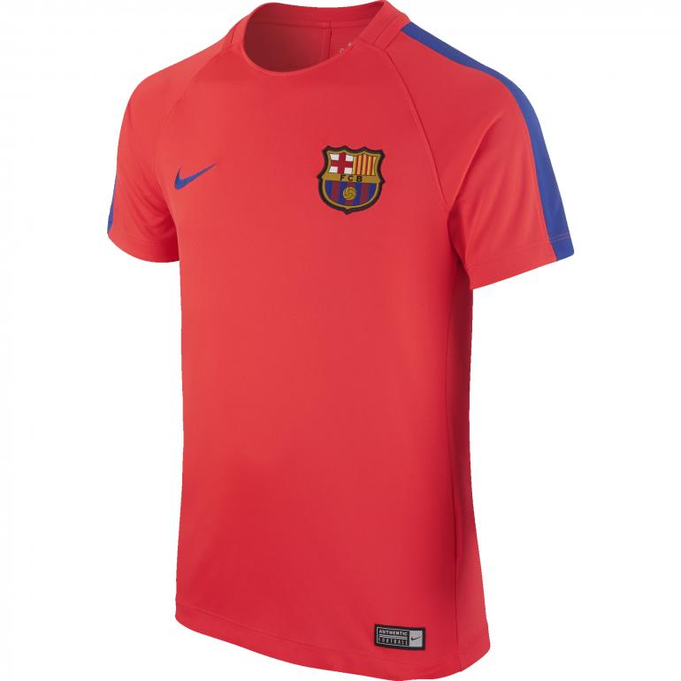 Maillot entraînement junior FC Barcelone orange 2016 - 2017