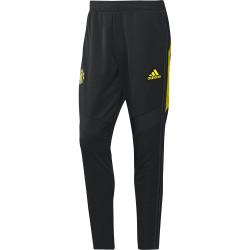 Pantalon survêtement Manchester United noir jaune 2019/20