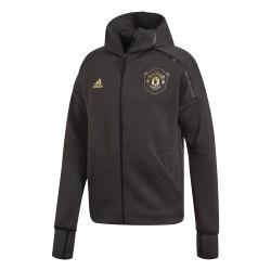 Veste survêtement Manchester United ZNE noir or 2019/20