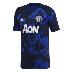 Maillot entraînement Manchester United graphic bleu 2019/20