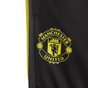 Pantalon survêtement junior Manchester United noir jaune 2019/20
