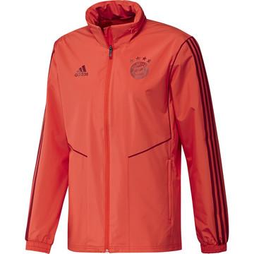 Veste imperméable Bayern Munich rouge 2019/20