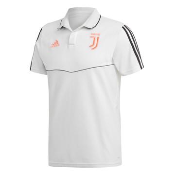 Polo Juventus blanc rose 2019/20