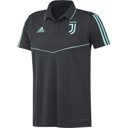 Polo Juventus noir bleu 2019/20