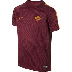Maillot Avant Match junior AS Roma rouge 2016 - 2017