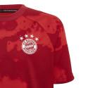 Maillot entraînement junior Bayern Munich graphic rouge 2019/20