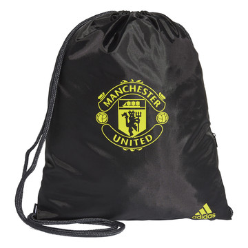 Sac de gym Manchester United noir jaune 2019/20