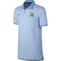 Polo Manchester City bleu 2016 - 2017