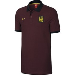 Polo Manchester City rouge 2016 - 2017