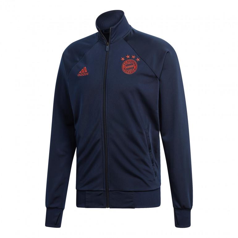 Veste survêtement Bayern Munich ICONS bleu orange 2019/20