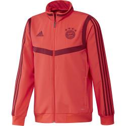 Veste survêtement Bayern Munich rouge 2019/20