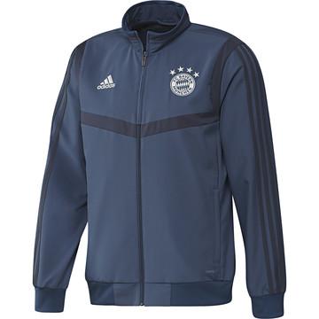 Veste survêtement Bayern Munich bleu 2019/20