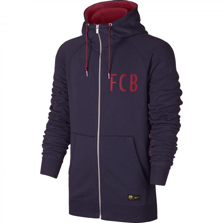 Veste FC Barcelone authentique violette 2016 - 2017