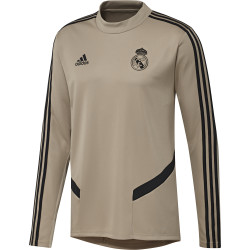 Sweat entraînement Real Madrid or noir 2019/20