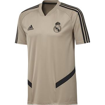 Maillot entraînement Real Madrid or noir 2019/20