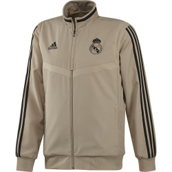 Veste survêtement Real Madrid beige 2019/20