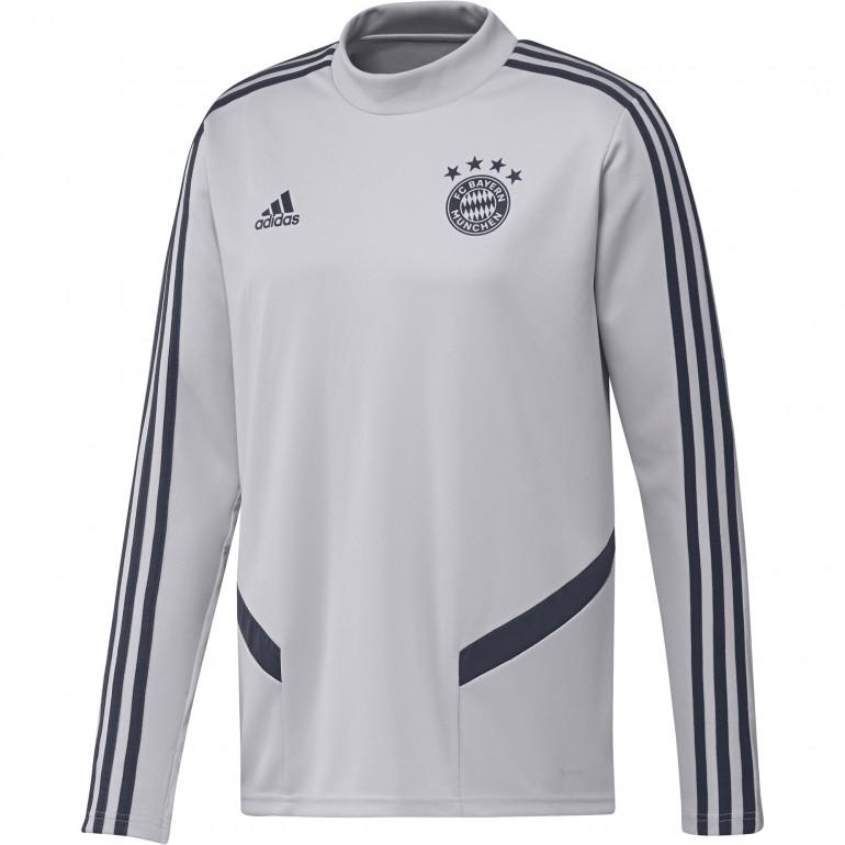 Sweat entraînement Bayern Munich gris 2019/20