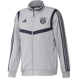 Veste survêtement Bayern Munich gris bleu 2019/20