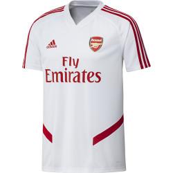 Maillot entraînement Arsenal blanc rouge 2019/20