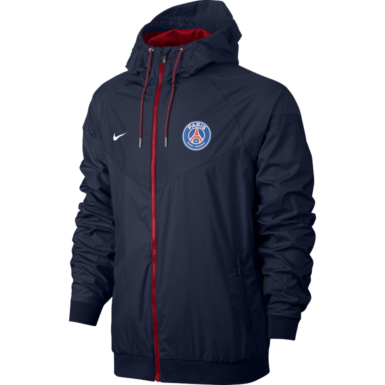 Coupe-vent PSG bleu 2016 - 2017