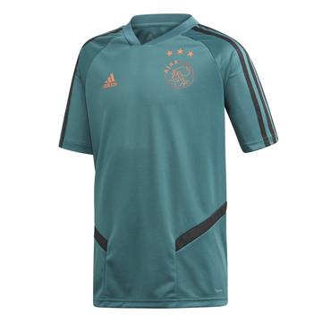 Maillot entraînement junior Ajax Amsterdam bleu 2019/20