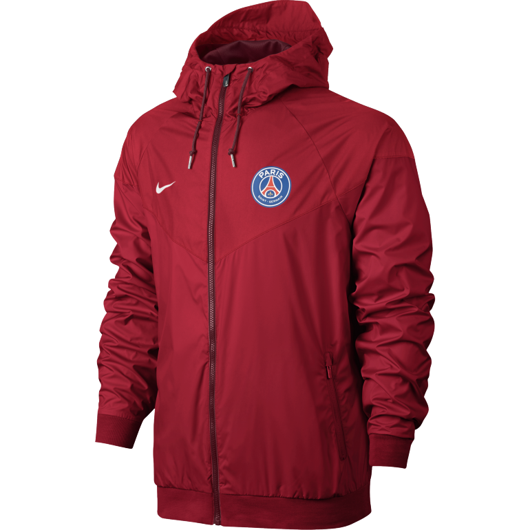 Coupe-vent PSG rouge 2016 - 2017