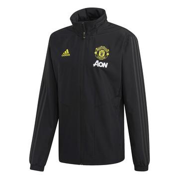 Veste imperméable Manchester United noir jaune 2019/20