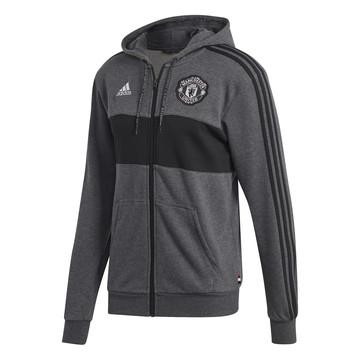 Veste à capuche Manchester United FZ gris 2019/20